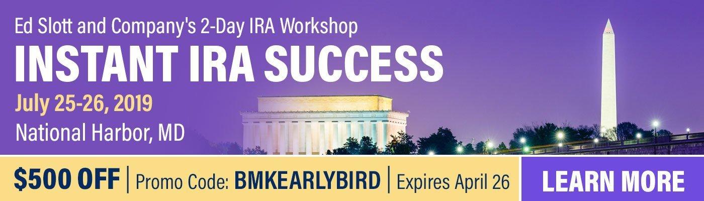 Instant IRA Success Workshop in Baltimore