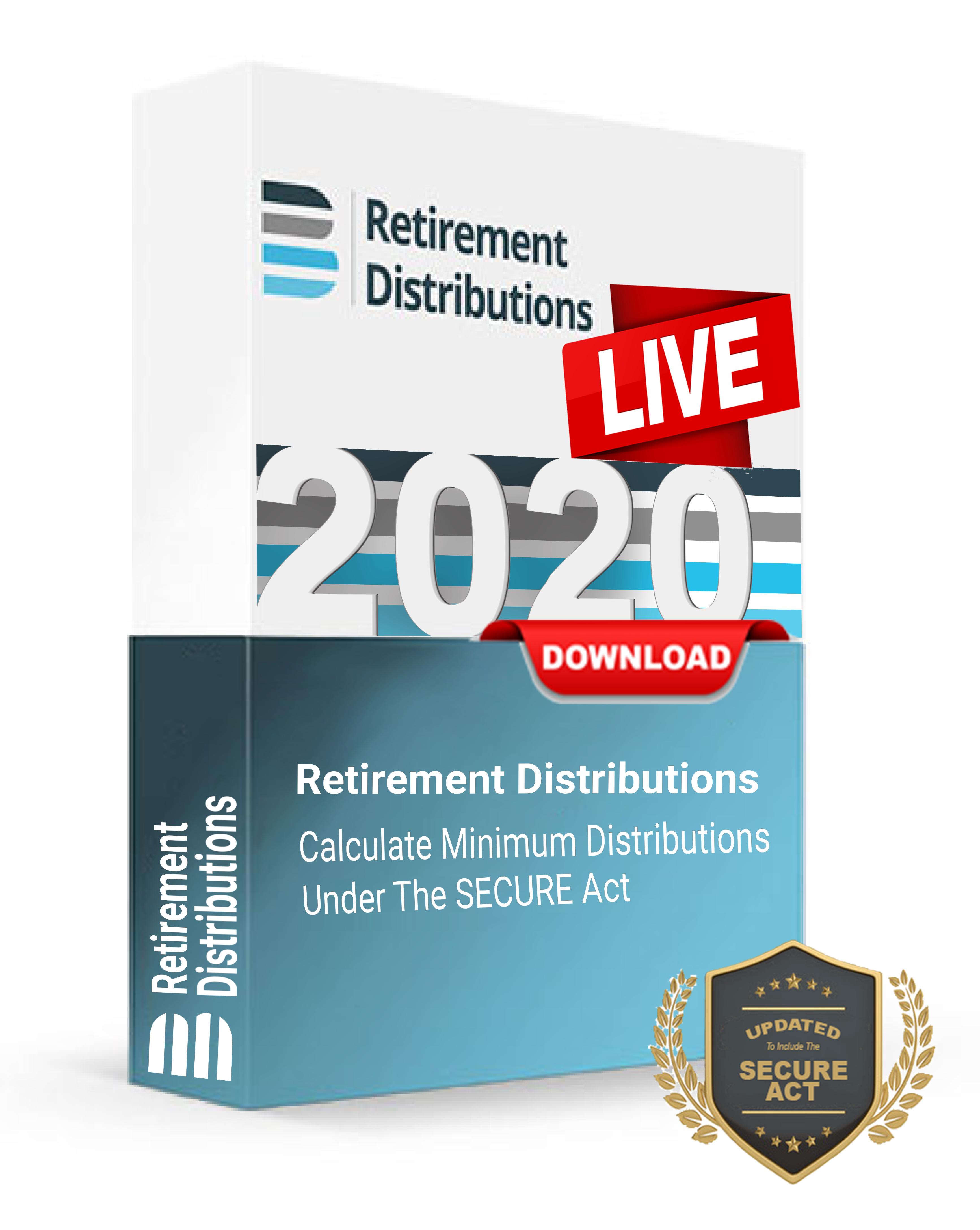 Retirement Distributions LIVE
