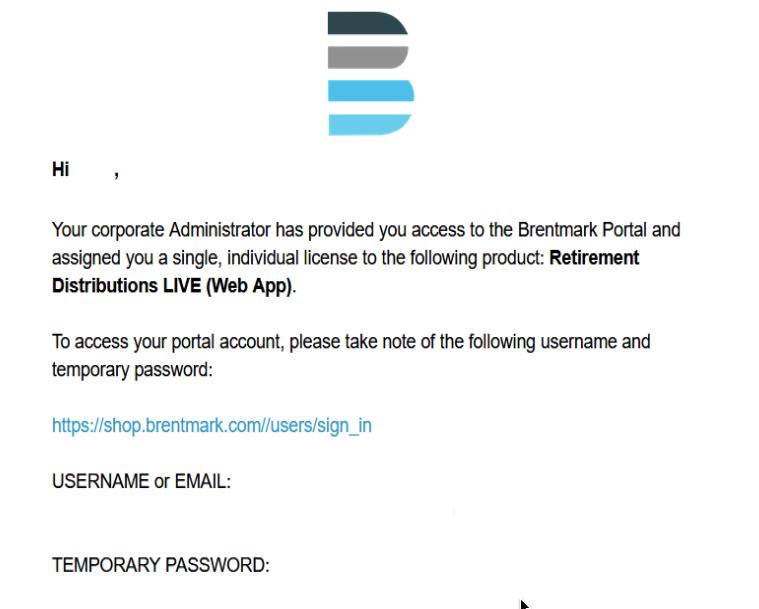 Brentmark Email Sample 1