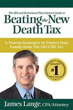 James Lange: Beating The New Death Tax (Book Cover)