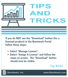 Brentmark, Inc. | TIPS AND TRICKS: Tip #103 - How do I get the